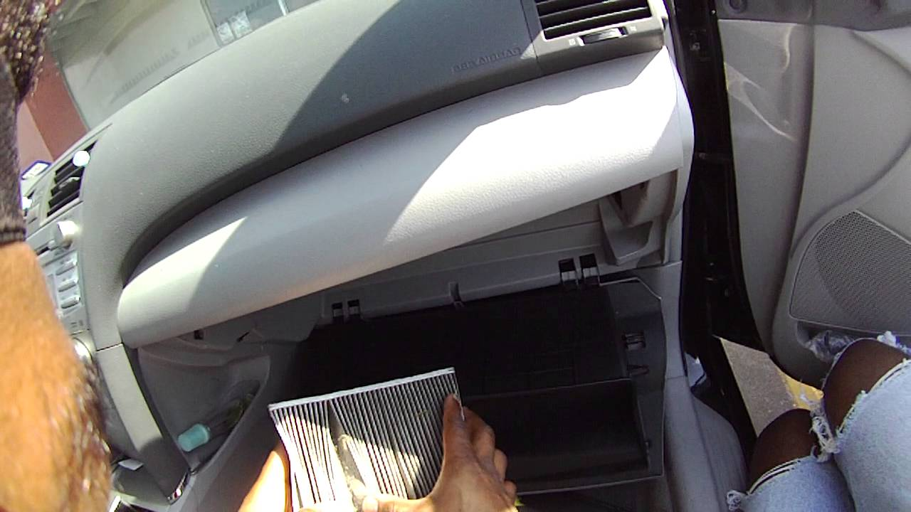 2011 Toyota Camry Air Cabin Filter Youtube