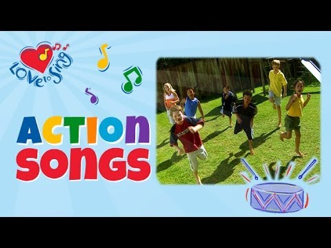 Cool Sports Fitness Song | Action Song for Kids | Hearty Fun | Children Love to Sing