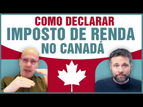 Como funciona o IMPOSTO DE RENDA no CANADÁ / Quais diferenças da declaração de imposto no Brasil?