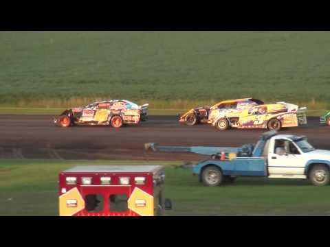 IMCA Sport Mod feature Benton County Speedway 7/31/16