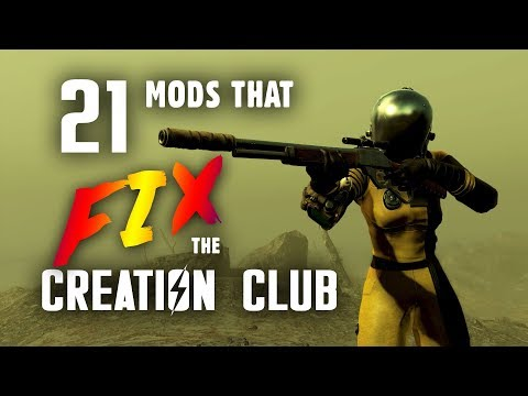 21 Mods that Fix the Creation Club - Fallout 4 Mods