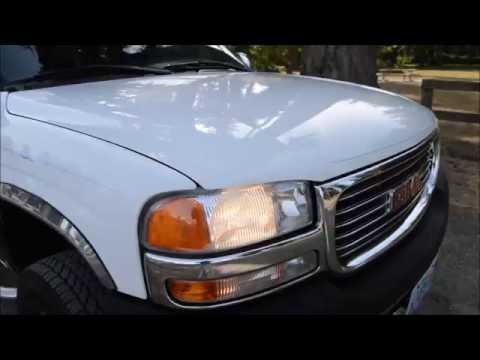 2001 GMC SIERRA SLE 2500 HD CREW CAB 4X4 6.0L V8