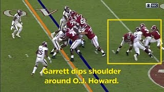Film Room: Myles Garrett, DE, Texas A&M Scouting Report (NFL Breakdowns Ep 59)