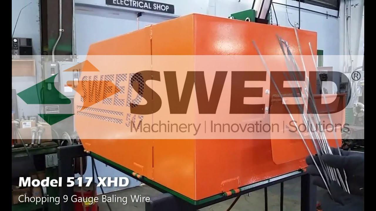 Sweed Chopper Parts Wire : Sweed scrap chopper model xhd chopping baling wire