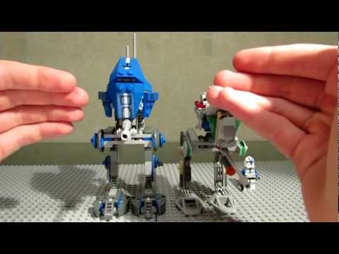 Lego Star Wars 75002 AT-RT Review