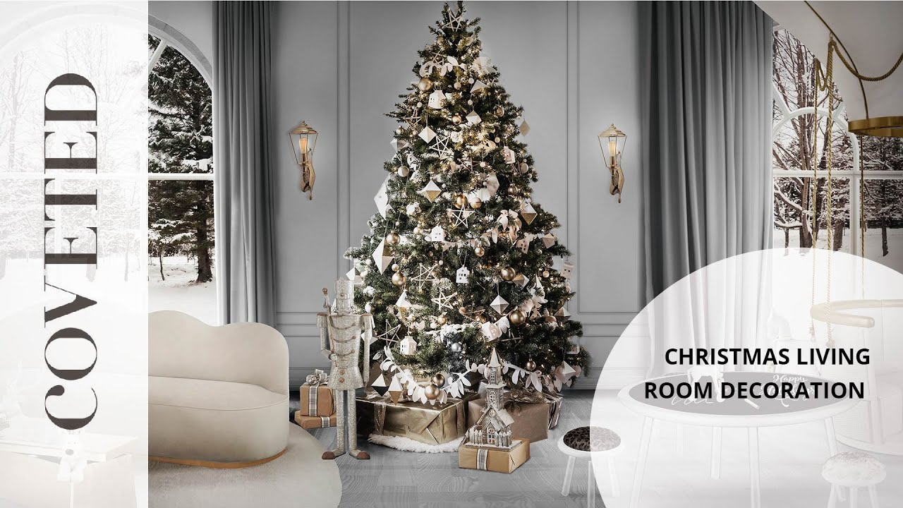 Christmas Living Room Decoration Ideas Youtube