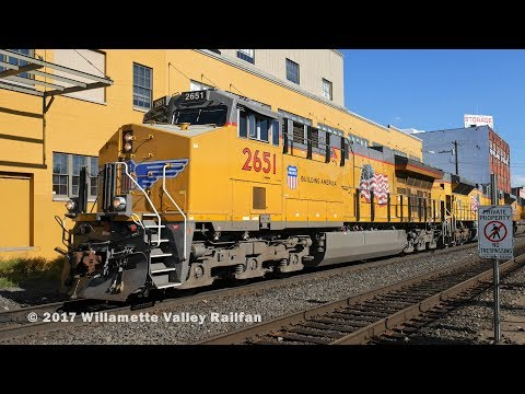 Railfanning Portland, Oregon: Volume 2 - Around town with the Union Pacific