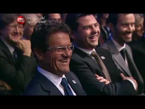 Smithy (James Corden) Coaching the Best of British Sport. Sport Relief 2010 (part 1). HILARIOUS!!