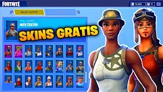 you can get all the skins for free but watch this video... (Fortnite: Battle Royale)