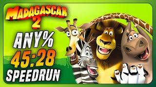 Madagascar: Escape 2 Africa - Any% speedrun in 45:28 (World Record)