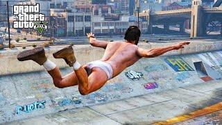 GTA V - RANDOM & FUNNY MOMENTS 62 (How To Ruin A Beach Party, Trevor Lost His Pants)
