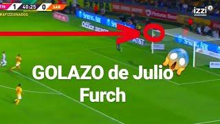 GOLAZO de Julio Furch vs Tigres (1-1) | Clausura 2019