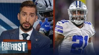Zeke wants to be a Cowboy through the prime of his career - Nick Wright   NFL   FIRST THINGS FIRST