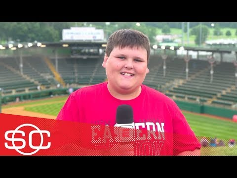 Alfred 'Big Al' Delia adjusting to fame after 'I hit dingers' goes viral | SportsCenter | ESPN