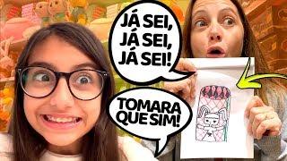 TUDO O QUE EU DESENHAR E MINHA MÃE ACERTAR EU LEVO !! Julia Moraes