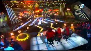 X Factor Enrique Iglesias-Love to see you cry-Abdulkarim Karimov live