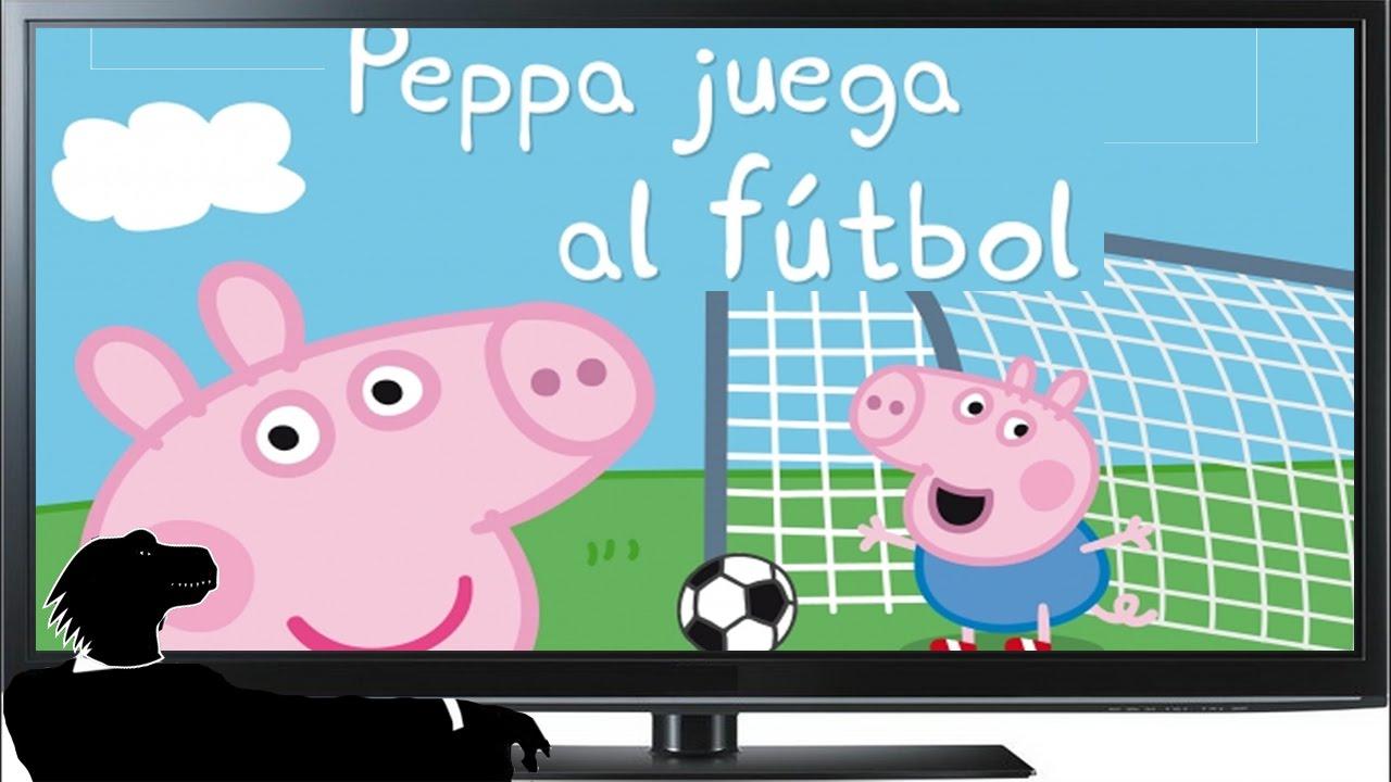 Por Qué Se Juega Al Fútbol Con 11 Jugadores Por Equipo: Peppa Pig Juega Al FÚTBOL