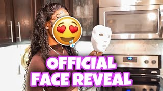 SHE FINALLY TOOK HER MASK OFF Official Face Reveal
