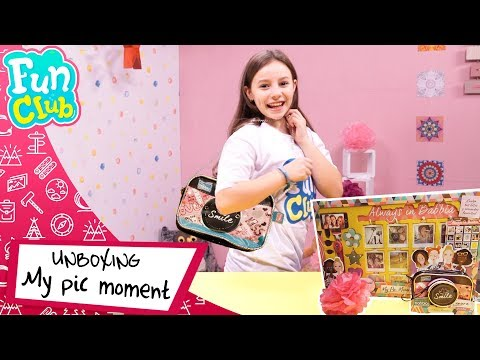 UNBOXING de Bolso Cámara 📷💖 My Pic Moments | Fun Club