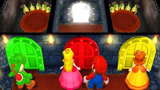 Mario Party 9 MiniGames Yoshi Vs Peach Vs Mario Vs Daisy (Master Difficulty)