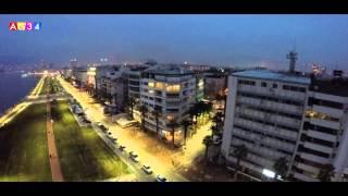 İZMİR - KORDON - Havadan Çekim