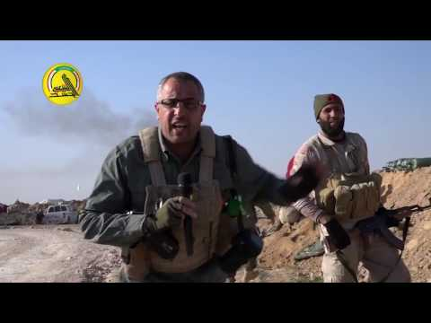 Close Combat Footage of Iraqi PMU gunning down ISIS fighters west of Mosul