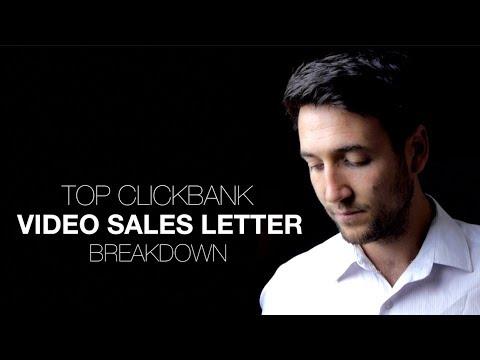 TOP CLICKBANK VIDEO SALES LETTER BREAKDOWN