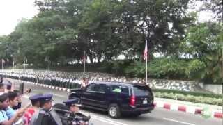 US president' Obama's  Trip to Burma