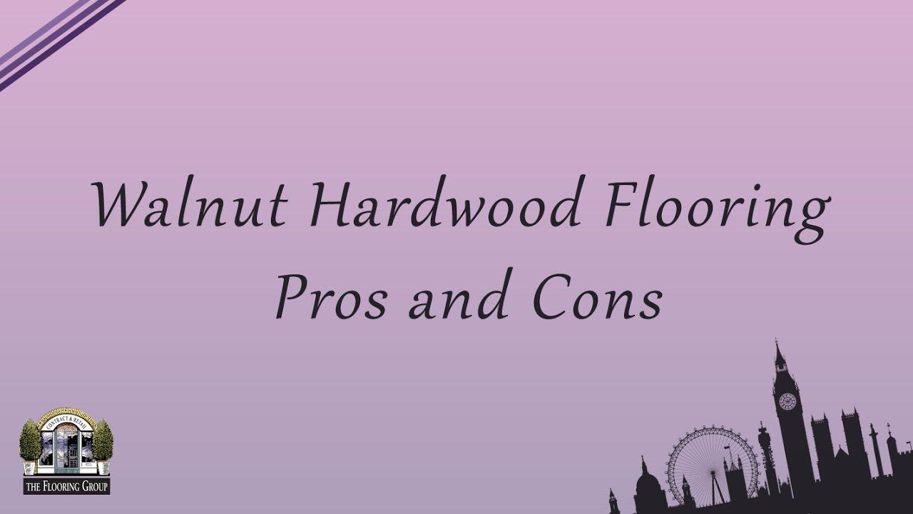 Walnut Hardwood Flooring Pros And Cons Gurus Floor