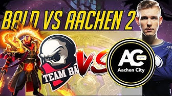 Bald vs Aachen - w/ Cr1t's Commentary TI 2019 Closed Qualifiers