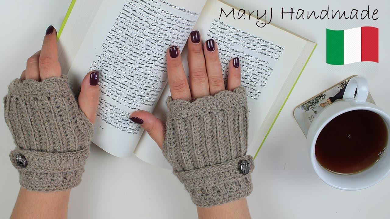 negozio ufficiale il più votato genuino acquista il più recente Tutorial uncinetto: guanti senza dita
