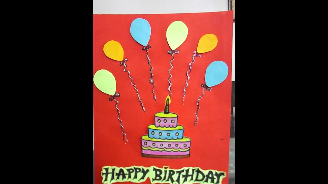 How To Make Easy Birthday Card