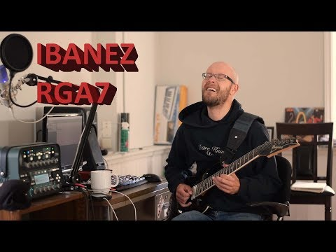 My Ibanez RGA-7 and Why I Don't Play 8 Strings