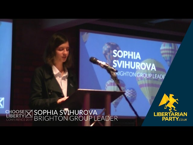 Sofia Svihurova - Libertarian Party Conference 2019