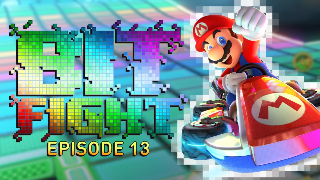 Mario Kart 8 Deluxe Linked Together Challenge – BIT FIGHT #13