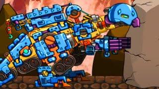 Water Rex Dino - Dino Robot Transform General Mobilization Gameplay