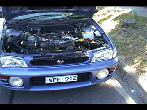 Subaru Wrx Blown engine motor big end bearing failure ...