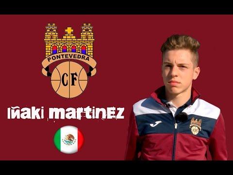 IÑAKI MARTINEZ JUVENIL PONTEVEDRA C F  ESPAÑA