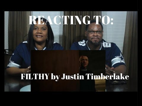 Justin Timberlake - Filthy (Official Video) REACTION
