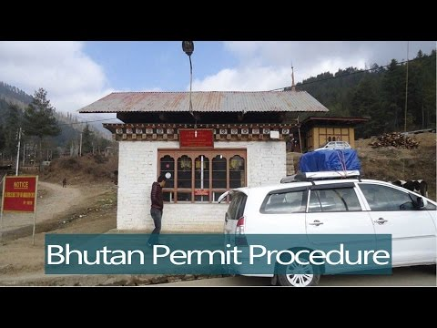 Travel Now : Bhutan Entry Permit