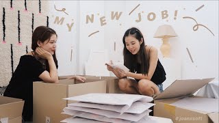 💼 MY NEW JOB: a work day in my life at SOFT SEOUL📦