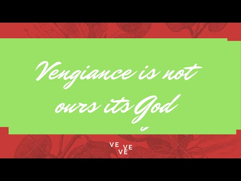 Vengeance Is Not Ours Its God# Declamation Piece
