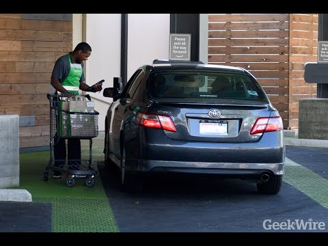 Watch us try the new AmazonFresh Pickup