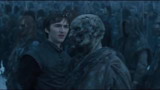 game of thrones 6x05 bran meets white walkers