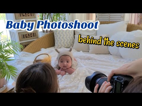 Baby Studio Photoshoot | Behind the Scenes| Photography | Baby Picturials