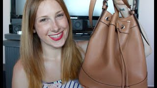 Old Navy Tassle Bucket Bag Review Thumbnail