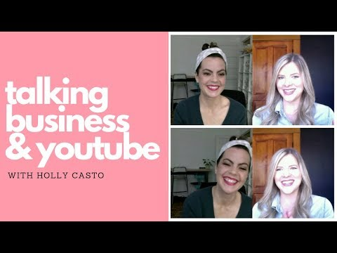 Talking Business & YouTube with Holly Casto   Design Pet Peeves, Marketing Must Haves and More!