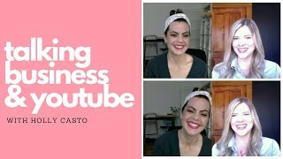 Talking Business & YouTube with Holly Casto | Design Pet Peeves, Marketing Must Haves and More!