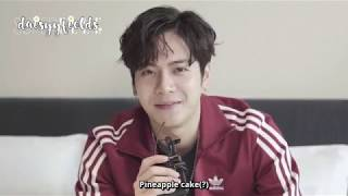 [ENG] Jackson: ELLE China interview, speed Q&A & Wardrobe raid
