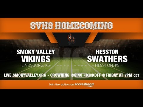 SVHS Varsity Football vs Hesston High School (Homecoming)